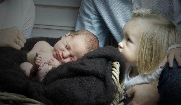 Fotografie Neugeboren